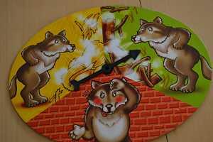Los Tres Cerditos - ruleta lobo